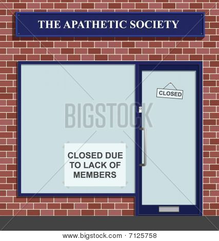 Apathetic society
