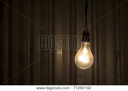 Lamp In Dark