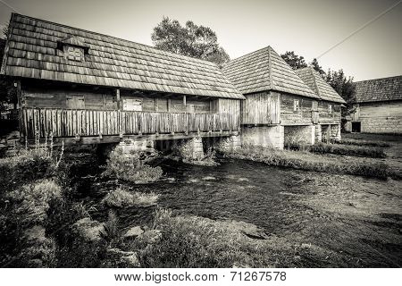 Mills On The River Gacka Croatia