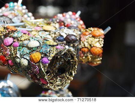 Goods For Sale At Souvenir Shop
