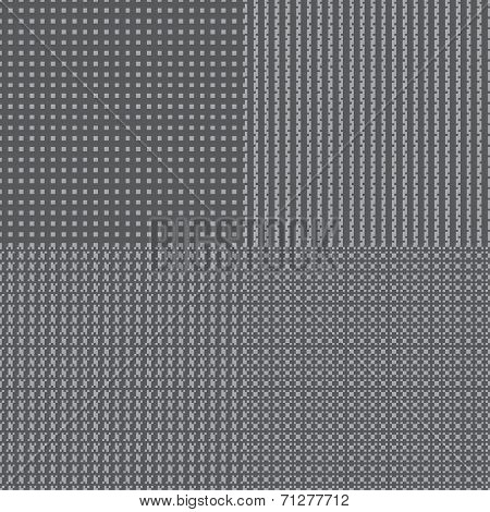 set background shiny silver with place for your text.