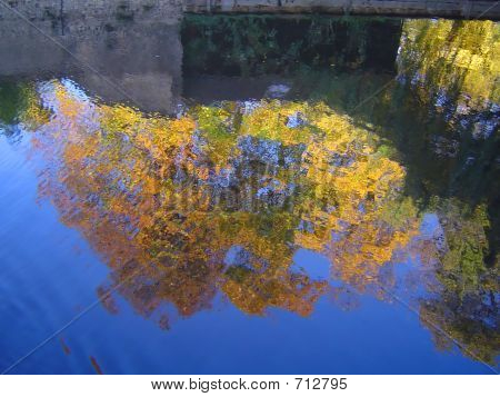 Autumn Fall Reflection