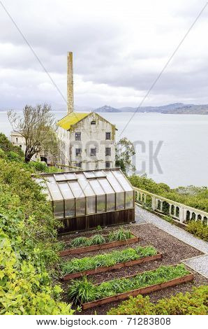 Alcatraz Garden & Power House, San Francisco, California