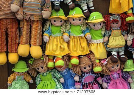 rag dolls - alberobello italy
