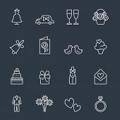 picture of ceremonial clothing  - wedding icons - JPG