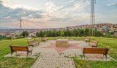 Jewish cemetery in Pristina poster