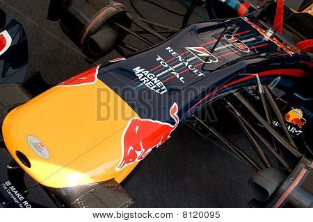 Goodwood, Uk July 1: Redbull Rb1 Car At Goodwood Festival Of Speed On July, 1 2010 In Goodwood Engla