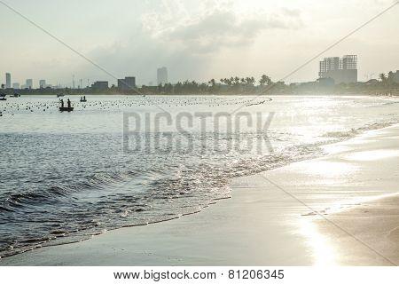 Sunset coast line, Da Nang
