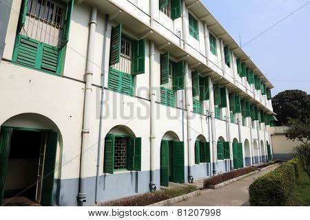 KOLKATA, INDIA - FEBRUARY 10: Loreto Convent where Mother Teresa lived before the founding of the Missionaries of Charity in Kolkata, India on February 10, 2014.