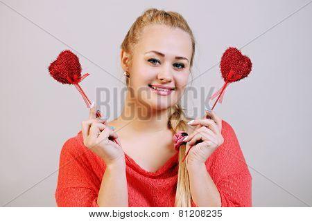 Hearts On A Stick