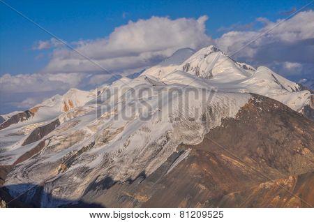 Glacier In Kyrgyzstan