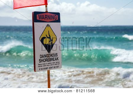 Dangerous Shorebreak