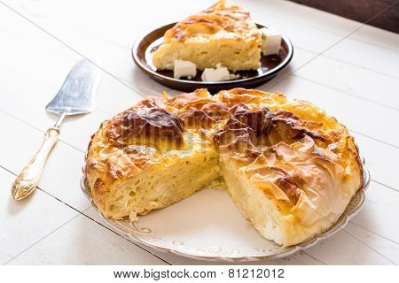 Serbian Cheese Pie