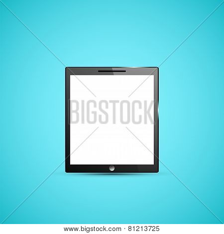 Tablet PC Computer Illustration