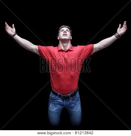 Young Worshiper