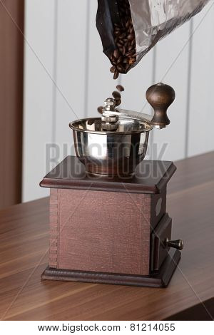 Old - Fashioned Coffee Grinder