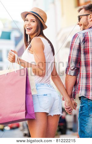 Shopping Together Is Fun!