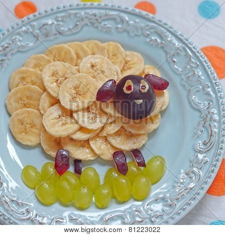 Funny snack for kids