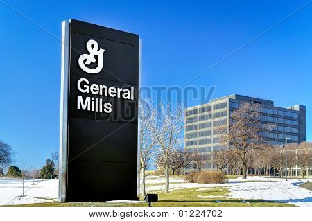 General Mills Corporate Headquarters And Sign