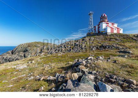 The lighthouse at Cape Bonavista, Bonavista, Newfoundland and Labrador, Canada.
