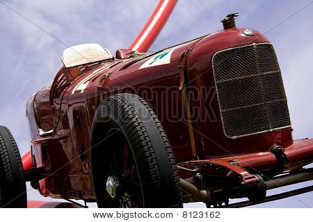Alfa Romeo P2 Car At Goodwood Festival Of Speed