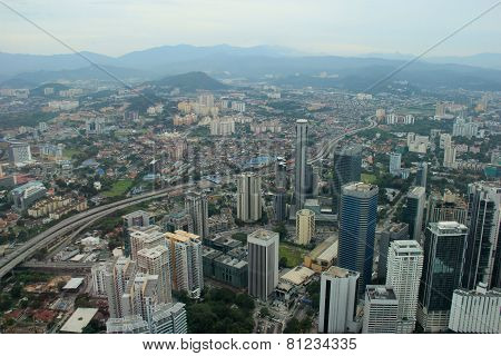Beautiful Scenery Of Kuala Lumpur, Malaysia