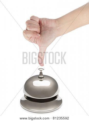 Finger Ringing Service Bell
