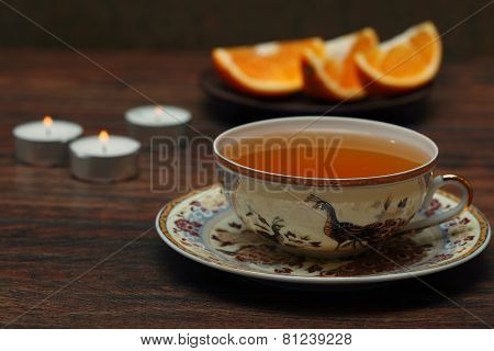 Tea With An Orange