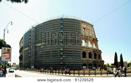 View Of Rome City Old Center On June 1, 2014