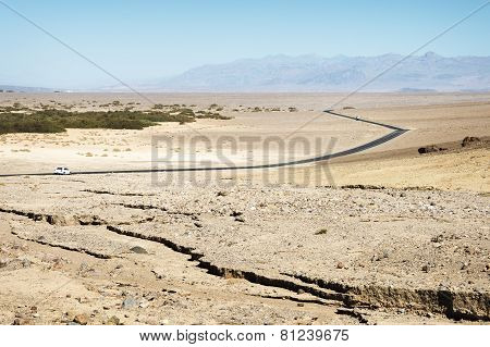 Road At Death Valley