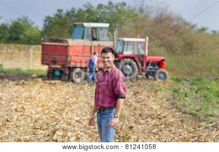 Smiling Farmer