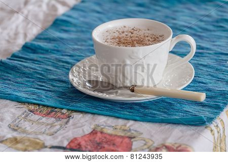 Traditional Cappuccino With Cardamom And Cinnamon