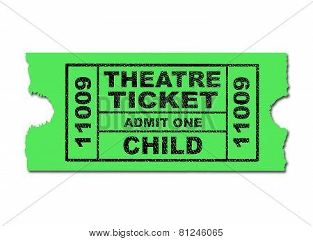 Theatre Ticket Child
