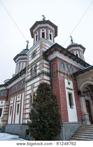 Monastery In Sinaia