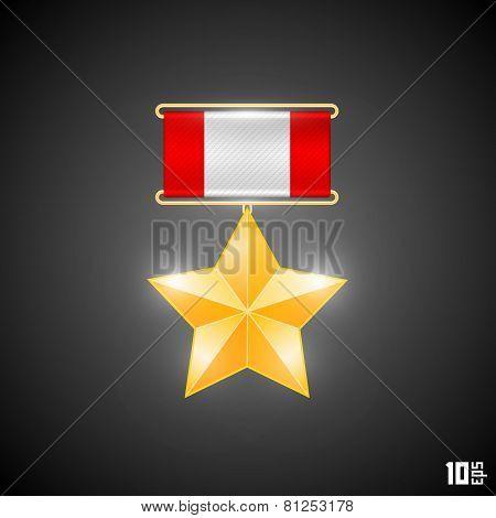 Medal hero
