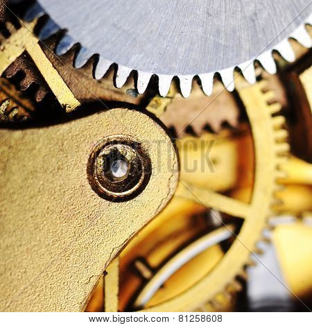 Watch Gears Close Up