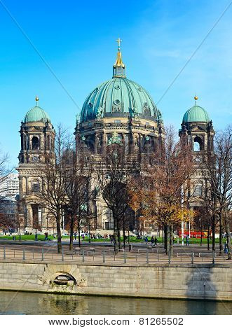 Berlin Cathedral View