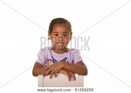 A female preschooler