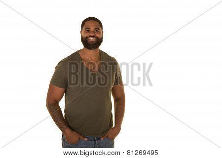 Attractive male