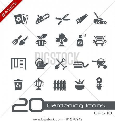 Gardening Icons // Basics