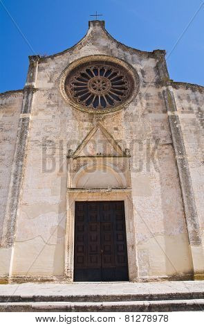 Mother Church of Laterza. Puglia. Southern Italy.