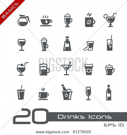 Drinks Icons // Basics