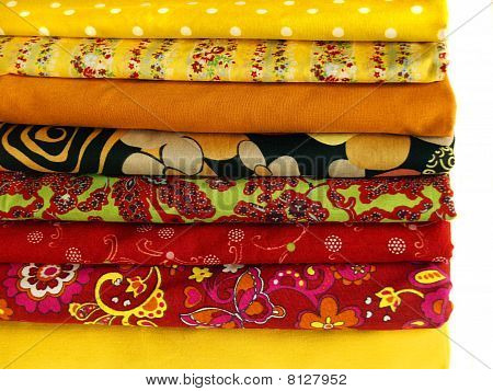 Colored Textile For Clothing Design