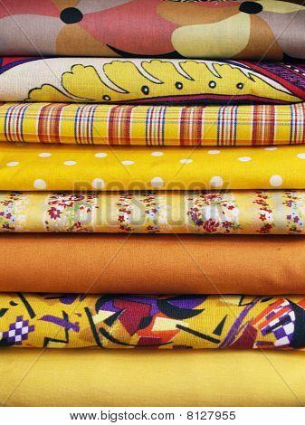 Colored Cotton Wiht Prints