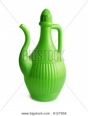 Green Plastic Jug