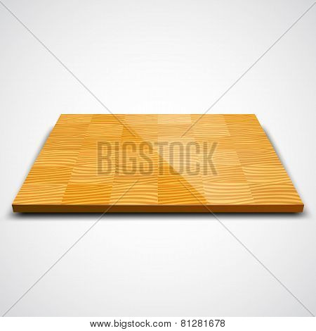 Vector illustration of parquet wood floor.