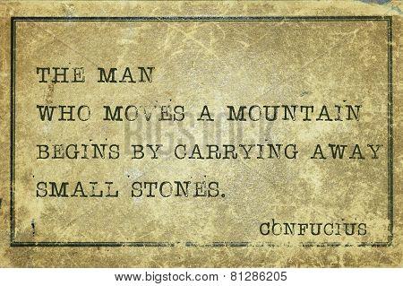 Move Mountain Print