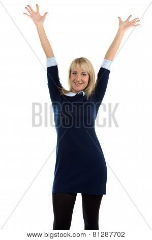 Image of successful business woman