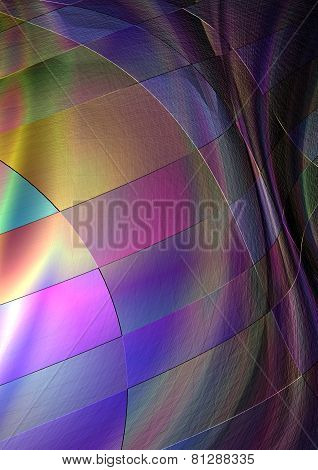 Abstract variegated background collected from rainbow squares