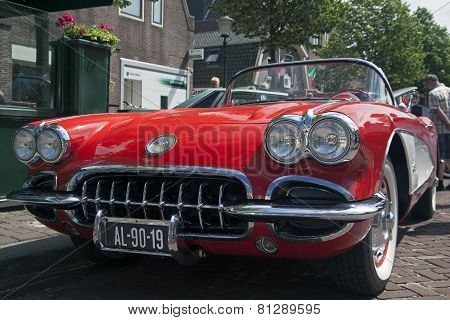 Famous car from the usa.
